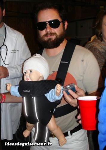 Costume of Alan Garner from Hangover - Letter A