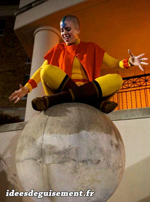Fancy dress of Avatar The Last Airbender - Letter A