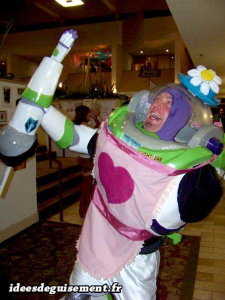 Amusing costume of Buzz lightyear