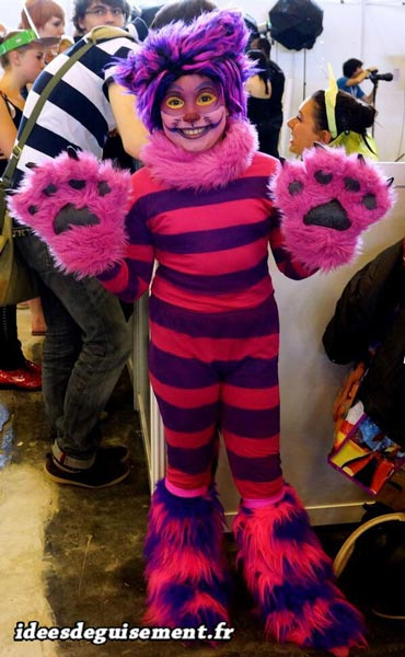 Costume of Cheshire Cat - Letter C