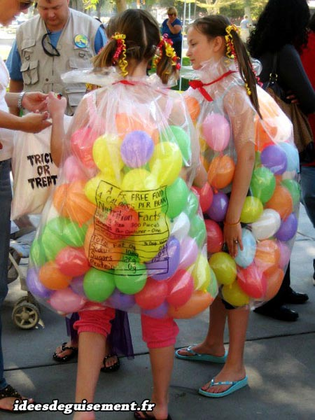 Costume of Balloons