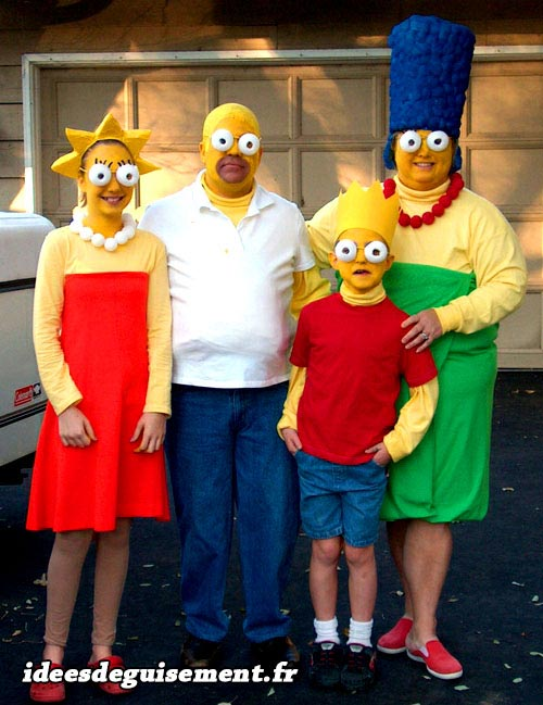 Fancy dress of The Simpsons Family - Letter F & Best Fancy Dress u0026 Costume ideas beginning with the Letter F