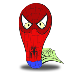 Costume idea of Spiderman