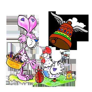 Ideas de disfraces de Pascua