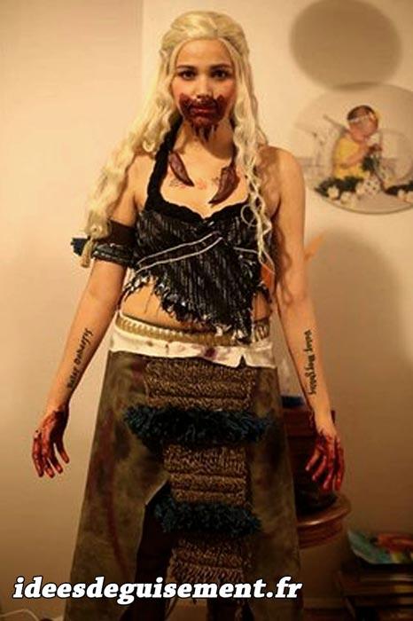 Costume of Khaleesi - Letter K