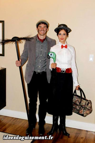 Fancy dress of Mary poppins