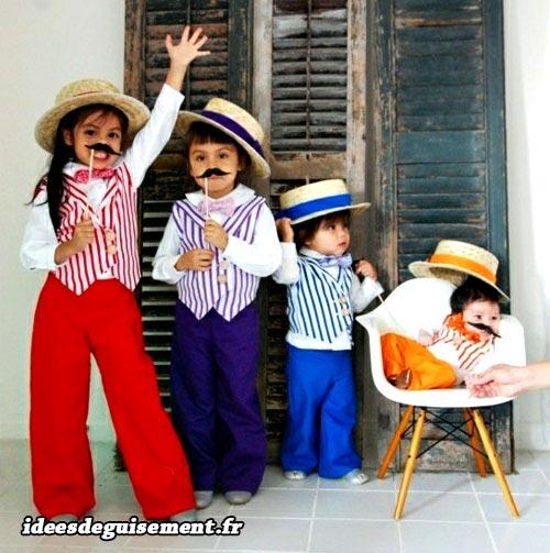 Costume of Mustache - Letter M