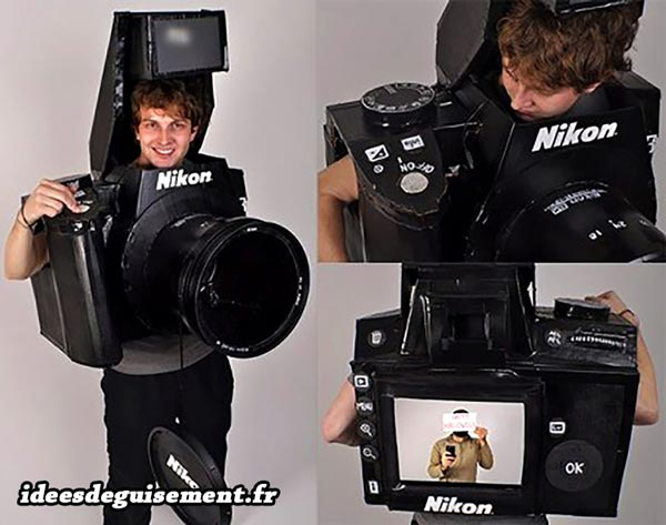 Costume of Nikon Camera - Letter N