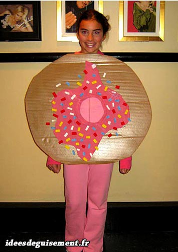 Costume of Donut - Letter D
