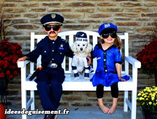 Fancy dress of Police Officers