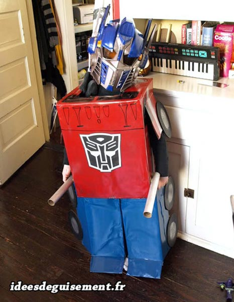 Costume of Power Rangers Robot