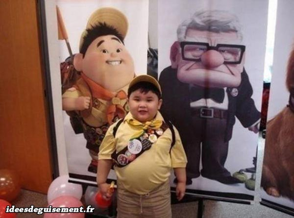 Costume of Russell from Up! - Letter R
