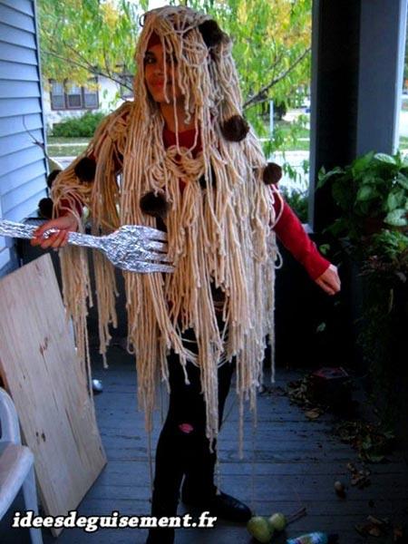 Costume of Spaghetti Bolognese - Letter B
