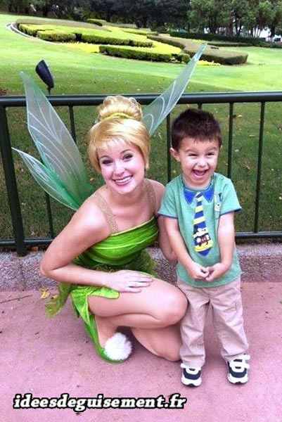 Fancy dress of Tinkerbell - Letter T