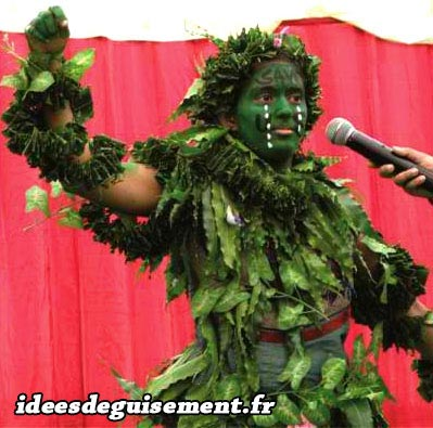 Christmas costume of Tree Nature Forest