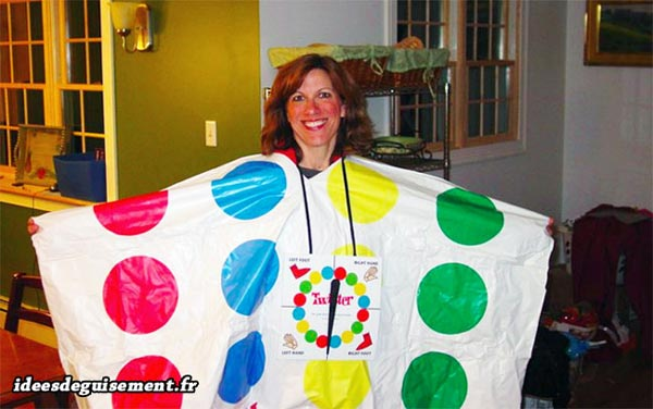 Fast costume of twister game