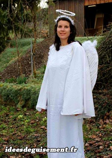 Christmas fancy dress of White Angel
