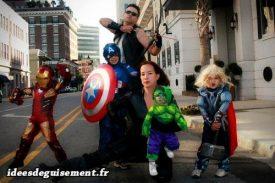 Costume of Avengers