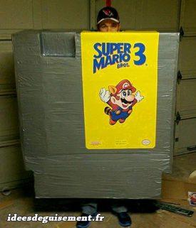 Costume of Cartridge Super Marios 3