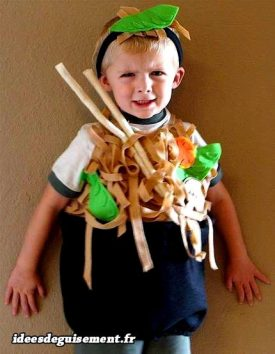 Costume of Chinese Noodles