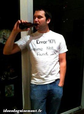 Costume of Error 404