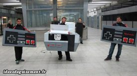 Costume of Nes (Game Console)
