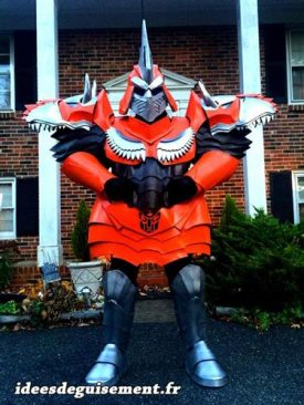 Costume of Grimlock from Transformers