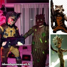 Costume of Guardians of the Galaxy