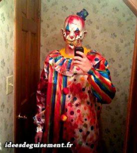 Fancy dress of Horror Clown