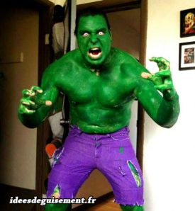Costume of Hulk