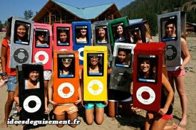 Costume of iPods