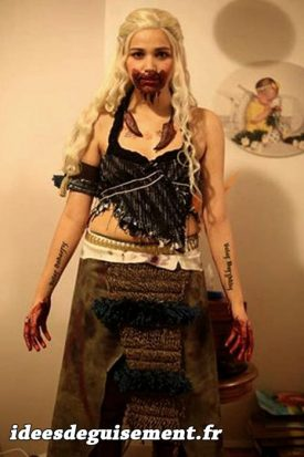 Costume of Khaleesi