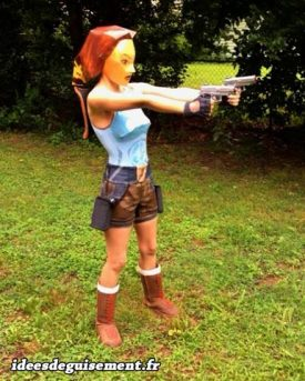 Costume of Lara Croft