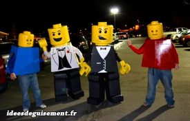Costume of Lego for Four