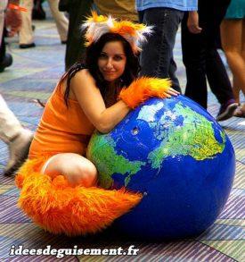 Costume of Orange Fox