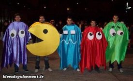 Costume of Pacman and Ghosts