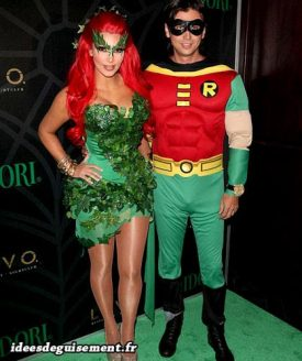 Costume of Poison Ivy