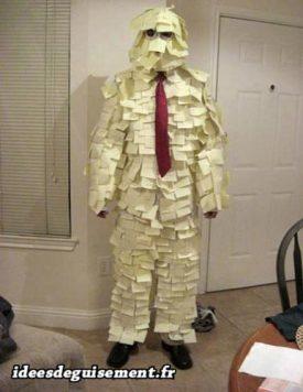 Costume of Post-it