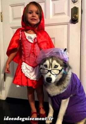 Costume of Red Riding Hood