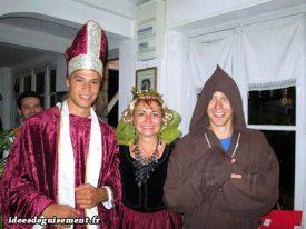 Costume of Religious & Queen