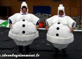 Costume of Snowman