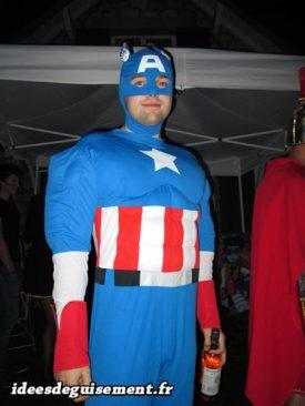 Fancy dress of Superhero