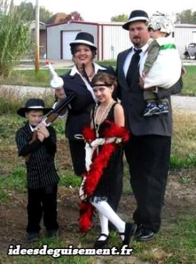 Fancy Dress of 1920's and 1930's Gatsby Party Charleston Gangsters